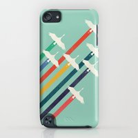 iPod Touch Cases featuring The Cranes by Budi Kwan
