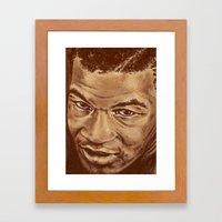 Mike Framed Art Print