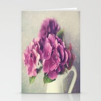Winter Hydrangea Stationery Cards
