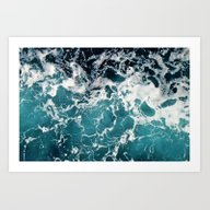 Churning Water Art Print