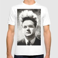 eraserhead Mens Fitted Tee White SMALL