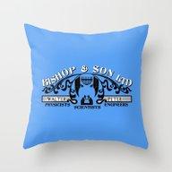 Bishop & Son Ltd Throw Pillow