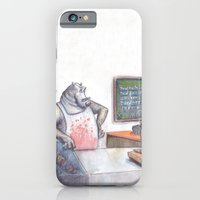 iPhone & iPod Case featuring Polar Bear by GalaArt
