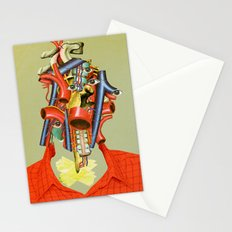 Head of the Organ Stationery Cards