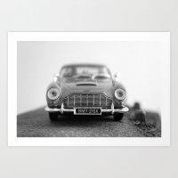 James Bond - Aston Martin Art Print