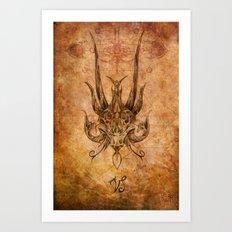Zodiac: Capricorn Art Print