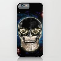 iPhone & iPod Case featuring Ghost skull by Alan Maia