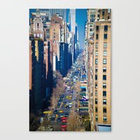 5th Avenue Canvas Print