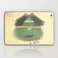 I Don't Give A Dam Laptop & iPad Skin