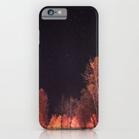 iPhone Cases featuring Firey woods by HappyMelvin