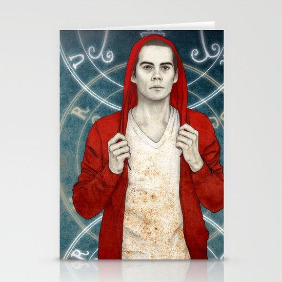 Stiles demon Stationery Card