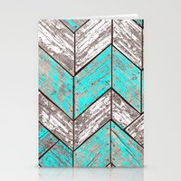 SHORELINE CHEVRONS (1 of 3) Stationery Cards