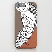 iPhone & iPod Case featuring Owls by Marlene Pixley