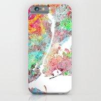 New York Map Splash Pain… iPhone 6 Slim Case