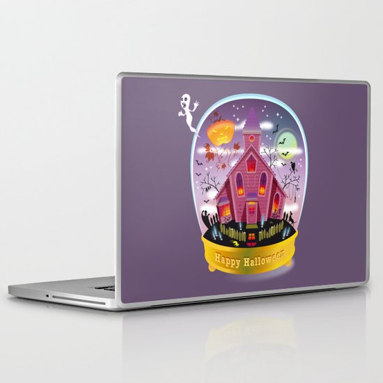 Happy Halloween! Laptop & iPad Skin