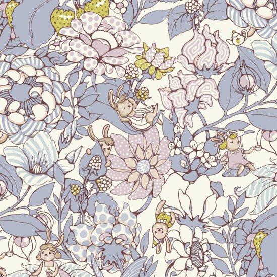 Garden party - jasmine tea version Art Print