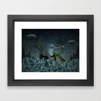 Naufrago Framed Art Print