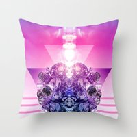3-3-3 Throw Pillow