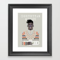 christian scott Framed Art Print