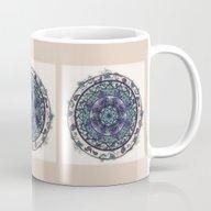 Morning Mist Mandala Mug