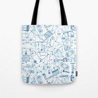 School Chemical #4 Tote Bag