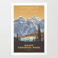 Banff National Park Art Print
