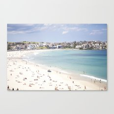 Bondi Beach White Sand Canvas Print