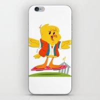 Hover Bird iPhone & iPod Skin