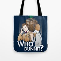Who Dunnit? Tote Bag