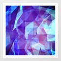 Abstract Geometric Design Art Print