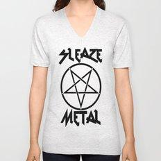 SLEAZE METAL Unisex V-Neck