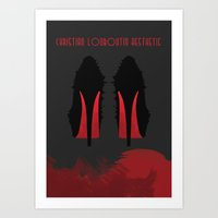 Christian Louboutin Aest… Art Print