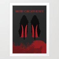 Christian Louboutin Aesthetic Art Print