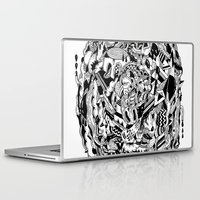 monster Laptop & iPad Skins featuring Monster by Saddo