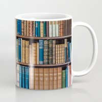 Antique first edition book Collection Mug