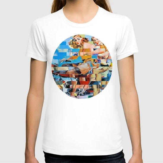 Glitch Pin-Up: Zelda & Zoe T-shirt