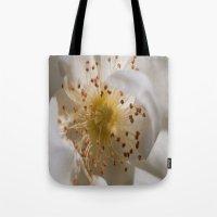 White Bloom Tote Bag