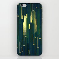 Night in the swamps iPhone & iPod Skin