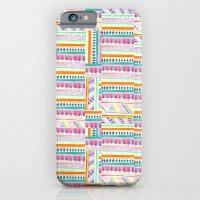 multicoloured AZTEC + iPhone 6 Slim Case