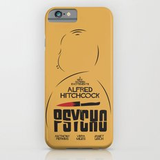 Psycho - Alfred Hitchcock Movie Poster iPhone 6 Slim Case