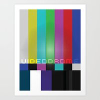 Videodrome Art Print
