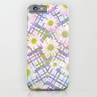 iPhone & iPod Case featuring Daisy Plaid by PatternPeople