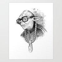 YO DMC Art Print