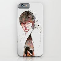 iPhone & iPod Case featuring I'll Keep My Secrets by Veronika Weroni Vajdová