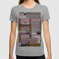 word pillow poem Womens Fitted Tee Athletic Grey SMALL