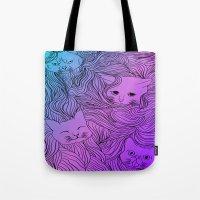 Shades of Cat Tote Bag