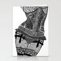 La Femme 01 Stationery Cards