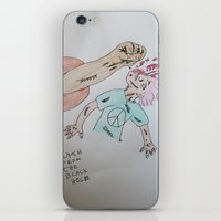 Punch To The Face!!! iPhone & iPod Skin
