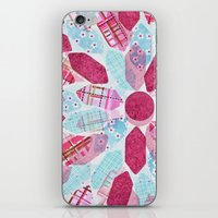 Patchwork-Collage Love iPhone & iPod Skin