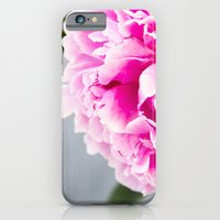 iPhone Cases featuring peonies I by petra zehner